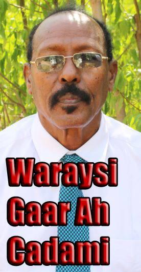 """DAAWO """"Dawlada Farmaajo Waxay Awooda Saartay Dawlada Somaliland """" WARAYSI Cabdiraxmaan Cadami"""
