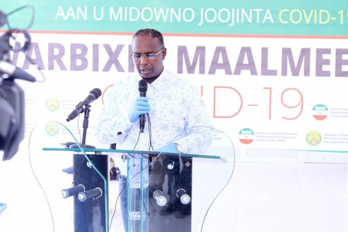 Somaliland Oo Ku Dhawaaqday 29 Qof Oo Laga Helay Covid-19 Iyo Dad Kale Oo Dhintay