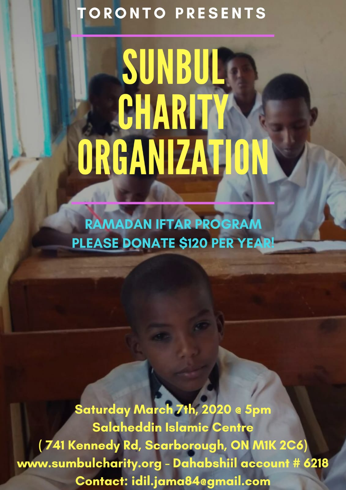 Charity That Supports Over 20 Orphans and Children from Low Income Families