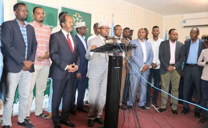 Madasha Xisbiyada Qaran Somaliya Oo War Cusub Ka Soo Saaray Doorashada