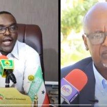 Daawo:-Xoghaye Cabdilaahi Geeljire Oo Wasiir Koore Ku Eedeyey Inuu Somaliland Diid Yahay