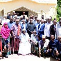 Madaxweynaha Somaliland Oo Madax Dhaqameedka Garxajis Heshiis Kala Gaadhay Jabhada Kornal Caarre+Sawiro