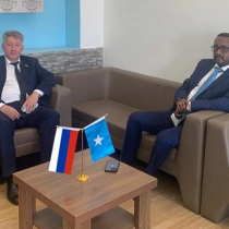 State Minister for Foreign Affairs discusses with the Russian ambassador a number of issues of common interest
