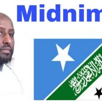 """""""Somalida Maslaxad Ma ugu Jirtaa Midnimo La'aanta""""? Waraysi Markale Midnimo Mohamud Adan Jamus"""