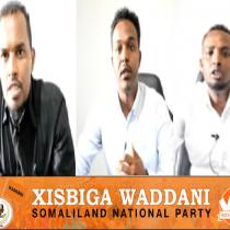 DAAWO: Xisbiga Waddani OO Xukuumada Ku Taageeray Rarida Kaantaroolka Koonfurta Hargaysa