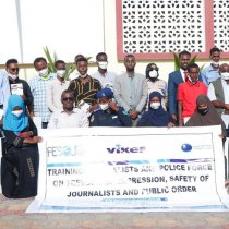FESOJ concluded training of Journalists and Police officers on freedom of expression