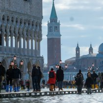 Sirens Sound Again in Deluged Venice