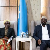 UN Deputy Special Representative to Somalia Anita Kiki Gbeho welcomes announcement on Women's representation for remaining Upper House seats in Jubaland