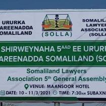 Shirweynaha Shanaad Ee Ururka Qareenada Somaliland....W/Q Jibriil Jirde