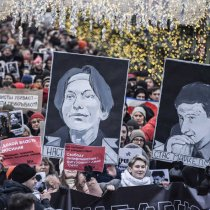 Moscow Protesters Remember 2009 Killings of Lawyer and Journalist