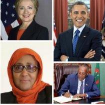 Madaxweyne Muuse Biixi Maka Faa,iidaysan Doonaa Marwo Sucaad Ibraahin Sidii Uu Obama Uga Faa,iidaystay Wasiirkiisii Arimaha Dibada Hillary Clinton...W/Q Cabdinaasir Caraale