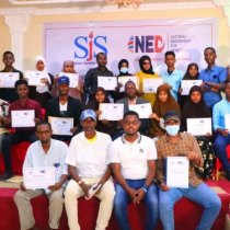 SJS concludes a three-day human rights journalism training in Kismayo